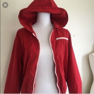 Red Krissy jacket brandy Melville